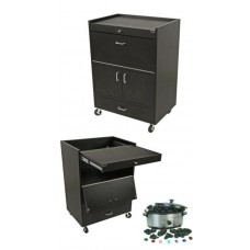 Collins 82241 Custom Hideaway Treatment Cart For Spas and Salons