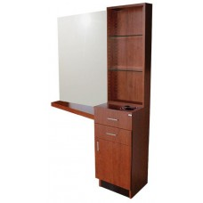 Collins 5505-54 QSE Retail Tower Hair Styling Vanity With Mirror