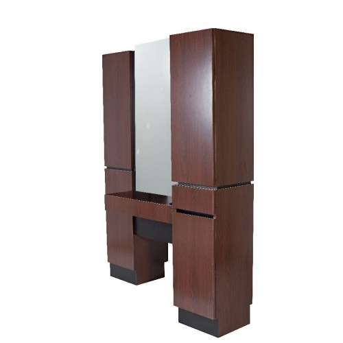 Collins 471-63 Reve B2B Styling Tower Island Station With Mirror & Upper Storage Area