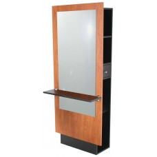 Jeffco J10 Wall Station With Back Storage Plus Full Size Mirror And Shelf USA Made