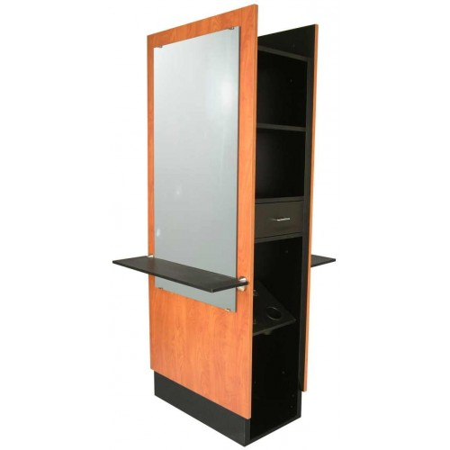 Jeffco J12 Java Back To Back Slim Styling Island Station With Mirror
