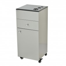 Pibbs PB54B Rollins Styling Cabinet Stainless Steel With Stone Top