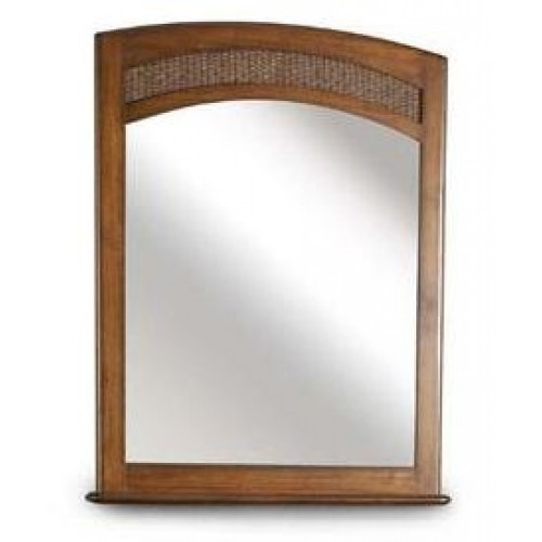 Italica Wood Hair Styling Mirror For Barber Shops or Hair Salons Real Wood In Stock