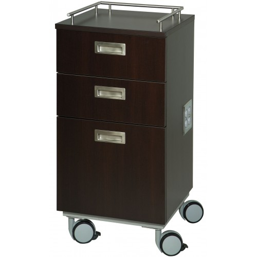 Belvedere KA208 Kalli Portable Styling Station With Recessed Pulls