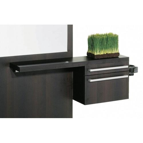 Belvedere KA-126 Kalli Wall Mount Hair Salon or Salon Suite Styling Vanity Station