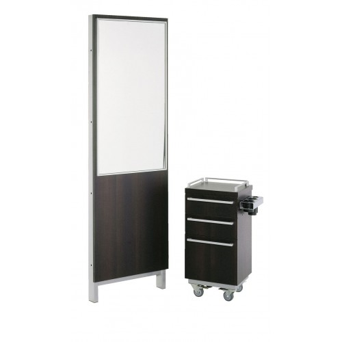 Belvedere KT108-2 Kallista Back To Back Island Hair Styling Station For 2 Hair Stylists