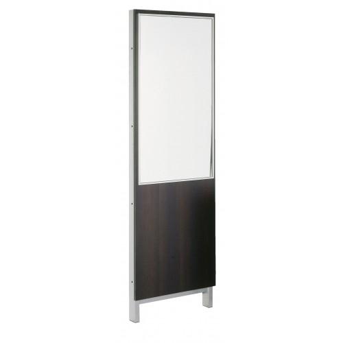 Belvedere KT193 Kalli Mirror Panel With Brushed Aluminum Mirror Frame