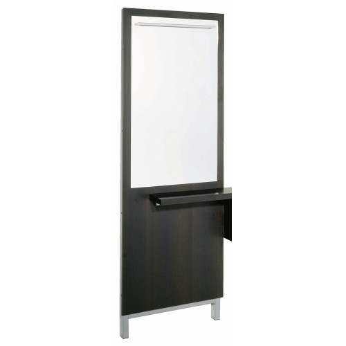 Belvedere KT192 Kalli Mirror Panel With Anodized Aluminum Accent Rail
