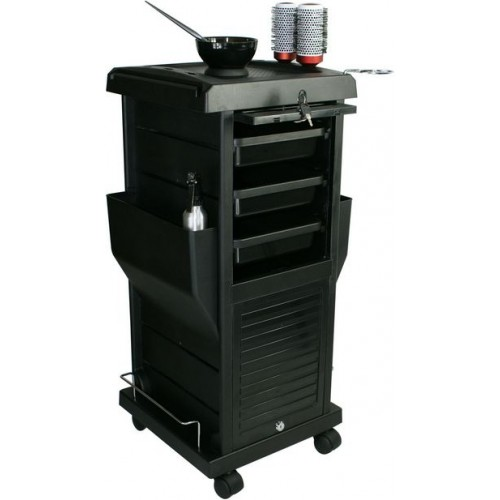 100B Beauty Cart Hair Color Utility Cart With Locking Doors From Italica