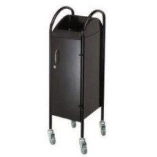 HT01 Locking Metal Door and Frame Beauty Salon Trolley By Paragon