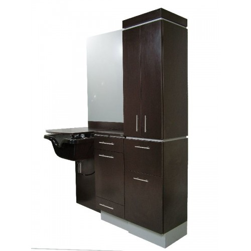 Collins 4423-60 Neo Ontario Wet Booth Station For Hair Salons