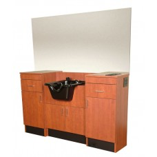 COL-5501-66 QSE Barber Wet Booth Station