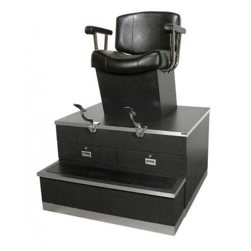 USA 9040 Made Shoe Shine Booth In Many Laminate Colors Top Grade High Quality
