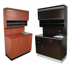 4432-48 NEO Quickship USA Made Hair Coloring Center With Stainless Sink 48 Inches Wide From Collins