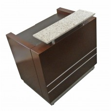 Italica R007A Lucas Reception Desk 39.5 Inches Wide