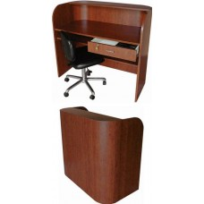 Collins 5519-48 QSE Radius Reception Desk