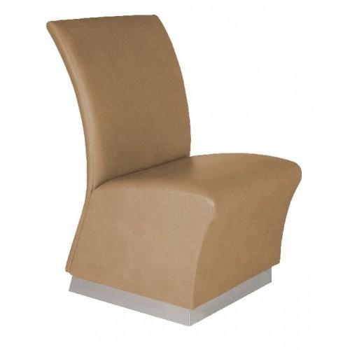 Collins 1975 Quickship Lanai Reception Chair With Toe Kick Base