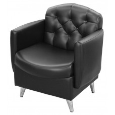 7125 Ashton Reception Sofa Tufted Buttoning Salon Spa Waiting Room Chair