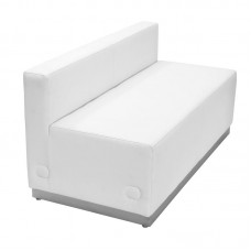 Salon Reception Loveseat Sofa White Ready To Ship For Free