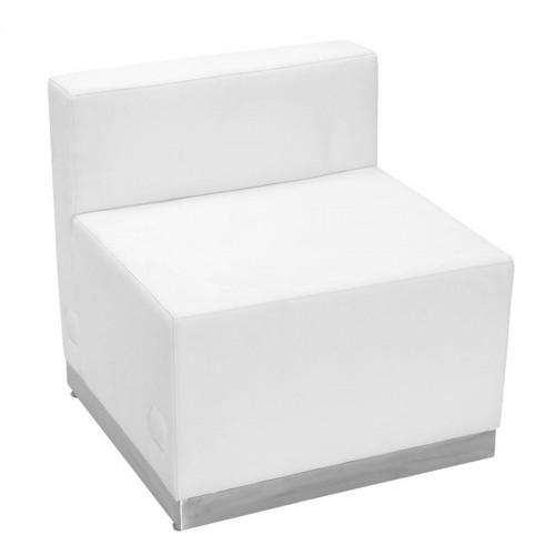 White Single Beauty Salon Spa Reception Waiting Sofa Ship Free