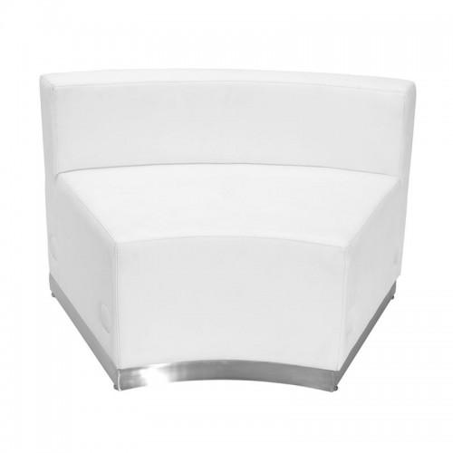 Free Shipping 803 In Seat Piece Reception Single Sofa White