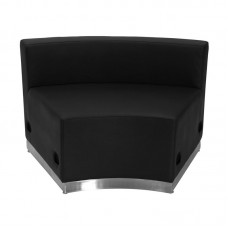 Free Shipping 803 In Seat Piece Reception Single Sofa Black