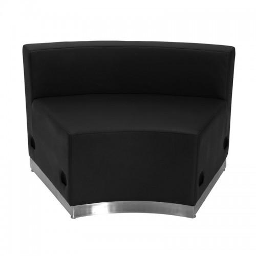 Free Shipping 803 In Seat Piece Reception Single Sofa Black