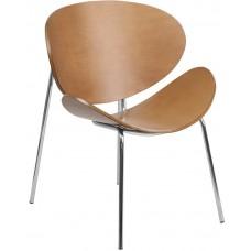 Free Shipping 2268 Beech Wood Reception Chair Stylish