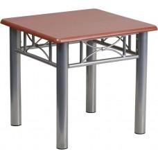 Free Shipping 0729 Mahogany Laminated End Table