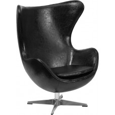 Free Shipping ZB9 Egg Leather Reception Chairs Many Colors To Choose