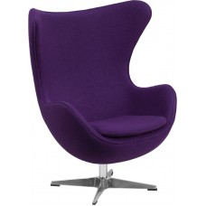 Free Shipping ZB Egg Wool Colorful Reception Chairs Many Colors To Choose From