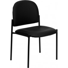 515 Italica Black Vinyl Salon Waiting Room Reception Chair Free Shipping