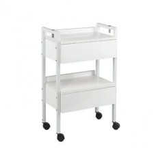 FREE SHIPPING- Italica White Skin Care Facial Machine Trolley With Mag Lamp Holders Built In