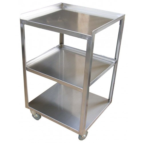 Italica S9 Stainless Steel Trolley With 3 Shelves