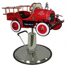 Jalopy Fire Engine Kids Hair Styling Chair For Children's Salons