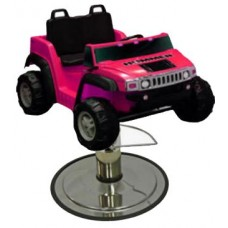 Pink Hummer Kids Styling Chair SUV With Your Choice of Base