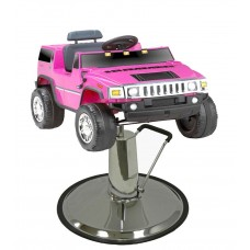 Single Seat Hummer Kids Styling Chair Pink
