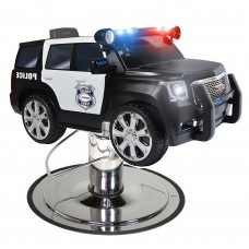 Police Kids Styling Chair SUV Plus Choice of Chair Base