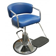 K63 Blue Brianna Kids Hair Styling Chair Your Choice Base