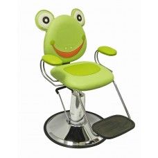 FrogR Hair Styling Chair With Hydraulic Base and Seat Belt