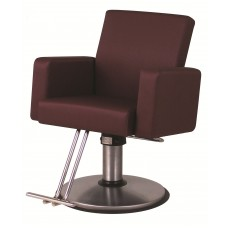 PH12A Plush Styling Chair Your Choice Color, Base & Footrest