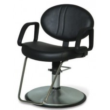 Calcutta Reclining Styling Chair Choice Color Base Plus Footrest