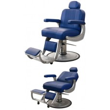 Collins B40 Cobalt Barber Chair With Your Choice of Color & Base