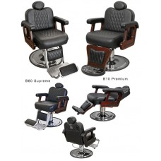 Collins B60 Commander Supreme Barber Chair With Your Choice of Color & Base