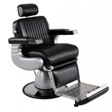In Stock 8551 Arrow Barber Chair With Oversized Base Black Only