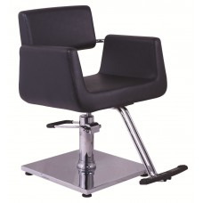 Italica 2167 Black Styling Chair With Your Choice Styling Chair Base In Stock