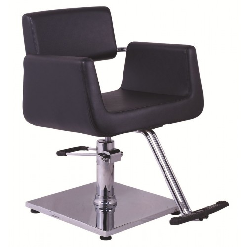 Italica 906 Black Styling Chair With Your Choice Styling Chair Base In Stock