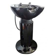 XT206 Free Standing Shampoo Sink For Hair Salons With Tilting Porcelain Shampoo Bowl
