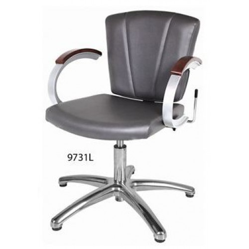 Collins 9731L Vanelle SA Lever Control Shampoo Chair With Gas Lift & Choose Chair Color
