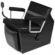 98ES Taress Electric Shampoo Chair From Collins With Lever Leg Rest